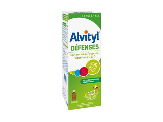 Alvityl Défenses sirop - 240ml