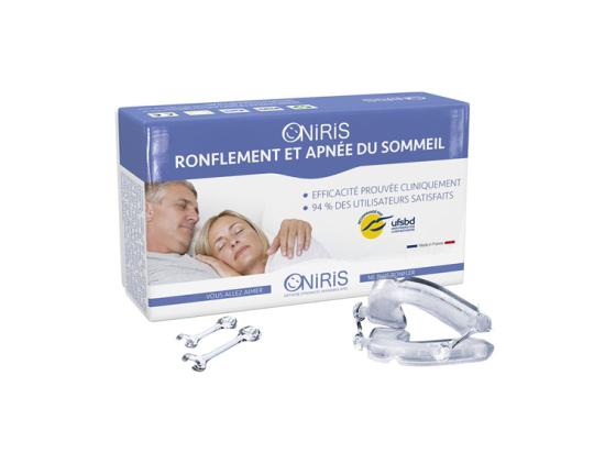 Oniris orthèse mandibulaire anti-ronflement et apnée du sommeil