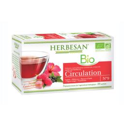 Herbesan Infusion BIO Circulation - 20 sachets