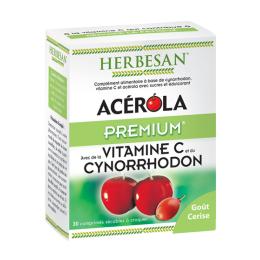 Herbesan Acérola premium - 30 comprimés