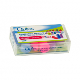 Quies protection auditive mousse disco - x3 paires