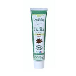 Ciel d'Azur Denticlay Dentifrice à l'argile à l'extrait d'anis BIO digestif  - 75ml