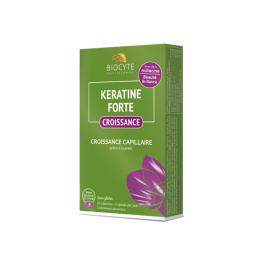 Biocyte Keratine forte croissance capillaire - 20 capsules
