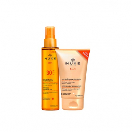 Nuxe Sun Huile bronzante SPF30 -150ml + Lait fraîcheur après-soleil OFFERTE