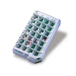 Pilbox Classic Pilulier hebdomadaire pour patients dépendants