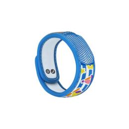 Para'kito Kids Bracelet anti-moustique + 2 recharges - Bracelet Bleu Bateau