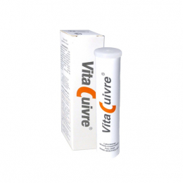 Monin Chanteaud Vitacuivre - 20 comprimés