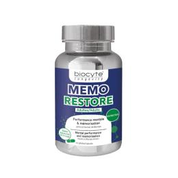 Biocyte memo restore adultes - 60 gélules
