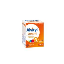 Alvityl Vitalité à avaler dès 6 ans - 40 comprimés
