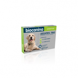Biocanina Ascatryl Trio Grand chien - 2 comprimés