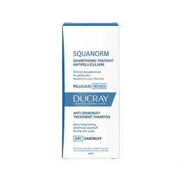 Ducray Squanorm Shampooing Traitant Pellicules Sèches - 200ml