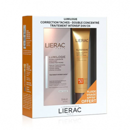 Lierac Coffret Lumilogie - 30ml + Sunissime Fluide protecteur anti-âge global SPF50 Offert