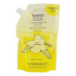 Garancia source enchantée eau démaquillante fleur d'oranger 400ml
