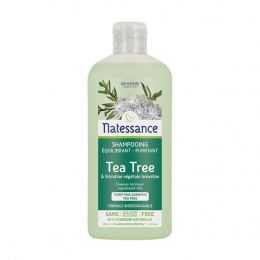 Natessance shampooing équilibrant purifiant tea tree - 250ml
