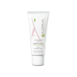 Aderma Hydralba crème hydratante UV riche - 40ml