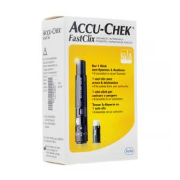 Accu-Chek Fast Clix autopiqueur + 6 lancets