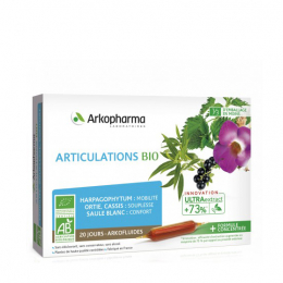 Arkopharma Arkofluides articulations BIO - 20 ampoules