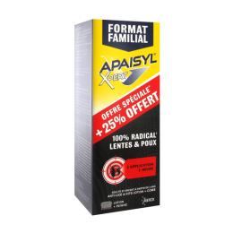 Apaisyl anti-poux Xpert lentes et poux - 250ml + 50ml offert