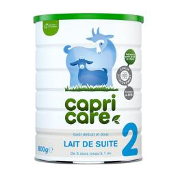 Capricare Lait de chèvre 2ème âge - 800g