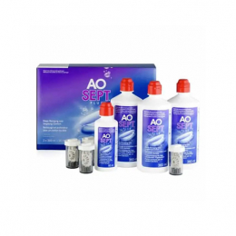Aosept Plus Hydraglyde - 3x360ml + 90ml