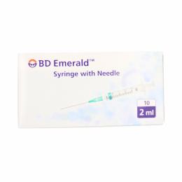 BD Seringues Emerald 40mm x 0,8 mm - 2ml - 1 seringue