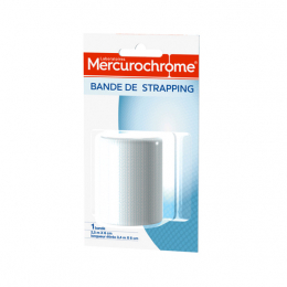 Mercurochrome bande de strapping