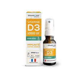 Granions Vitamine D3 végétale 1000UI - 20ml