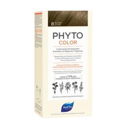 Phyto color Kit de coloration permanente - 8 Blond clair