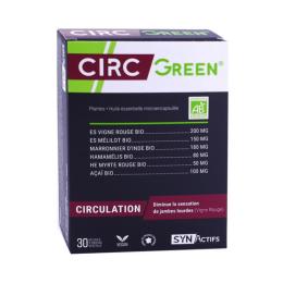 Aragan Synactifs Circgreen circulation BIO - 30 gélules