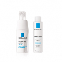 La Roche-Posay Toleriane ultra yeux - 20ml + Toleriane dermo-nettoyant OFFERT