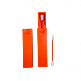 Act'éco Coton-tige silicone réutilisable Orange