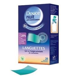 Douce Nuit Anti-ronflement Languettes 28 sachets