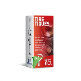 Vetobiol Tire-Tiques - x2