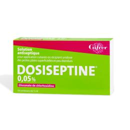 Gifrer Dosiseptine 0,05% - 10 unidoses