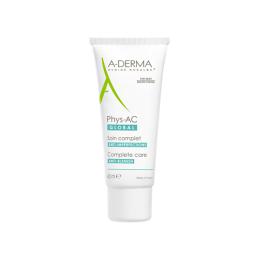 A-derma Phys-AC Global Soin imperfections sévères - 40 ml