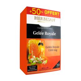 Herbesan Gelée Royale 1500 mg - 20 ampoules + 10 OFFERTES