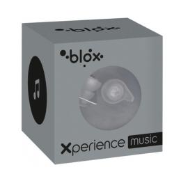 Blox Xperience music transparent bouchons d'oreille  - 1 paire