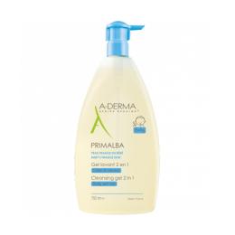 A-derma Primalba gel lavant 2 en 1 - 750ml