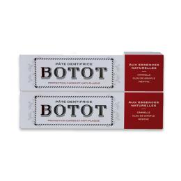 Botot Dentifrice Cannelle Clou de Girofle Menthe - 2x75ml