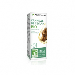 Arkopharma huile essentielle  cannelle de ceylan BIO N°01 - 5ml
