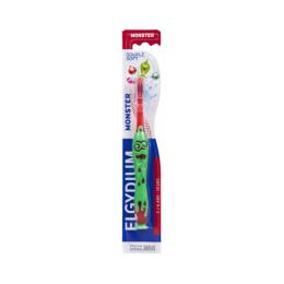 Elgydium Brosse à dents Monster 2-6 ans