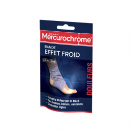 Mercurochrome Bande effet froid - 3,2mx7,5cm