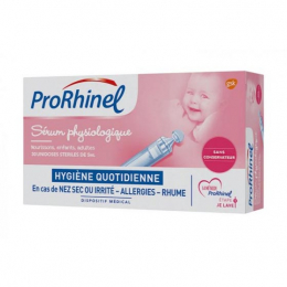 Prorhinel Sérum physiologique - 30x5ml