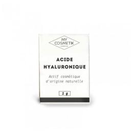 MyCosmetik Acide hyaluronique naturel + boite - 1g