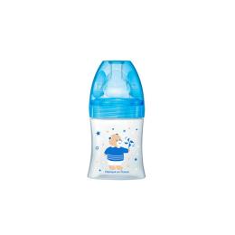 Dodie Biberon Sensation+ 150 ml Bleu ourson tétine débit 1 - 150ml