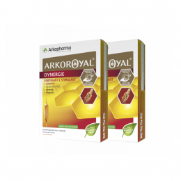 Arkopharma Arkoroyal Dynergie - 2x20 ampoules