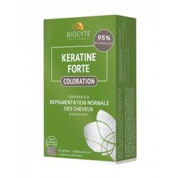 Biocyte Kératine Forte coloration - 60 gélules