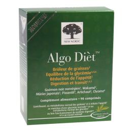 Algo dièt - Brûleur de graisses – 90 comprimés