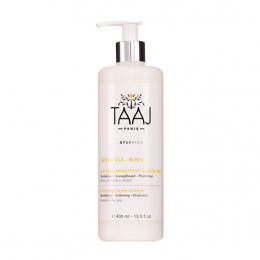 Taaj Abhyanga body lait frais hydratant à l'aloe vera - 400ml