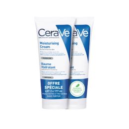 CeraVe Baume Hydratant Visage et Corps - 2x177ml